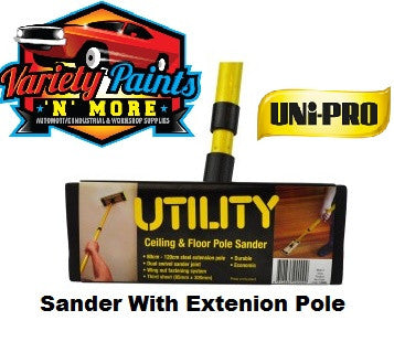 Unipro Utility Ceiling & Floor Pole Sander includes extension pole