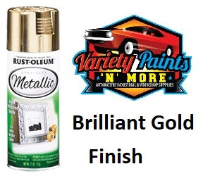 RustOLeum Specialty Metallic Finish Gold 340 Gram