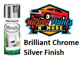 RustOLeum Specialty Metallic Finish Chrome Silver 340 gram
