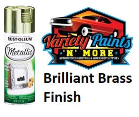 RustOLeum Specialty Metallic Finish Brass 340 gram