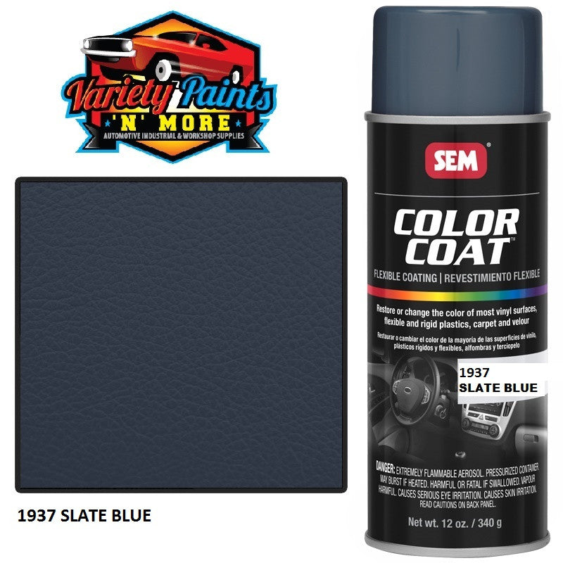 SEM Slate Blue 1937 Colourcoat Vinyl Aerosol Variety Paints N More