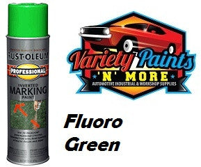 RustOleum Inverted  Marking Paint 425 Gram Fluoro Green