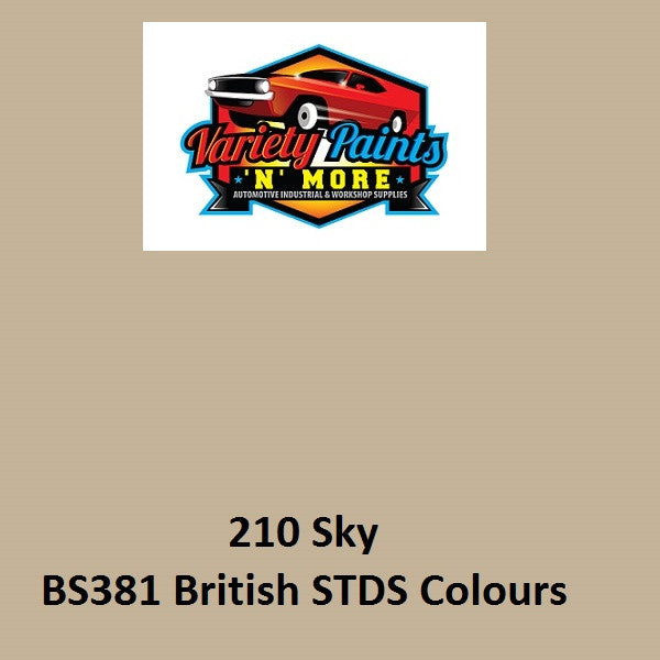 210 SKY ACRYLIC Gloss British Standard Custom Spray Paint 300 grams
