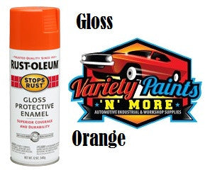 RustOLeum Stops Rust Orange Gloss Aerosol