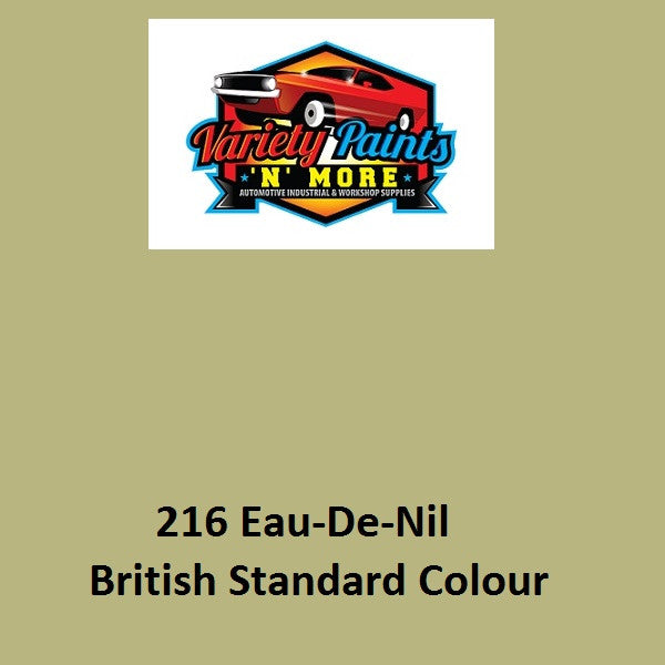216 Eau-De-Nil British Standard Custom Spray Paint