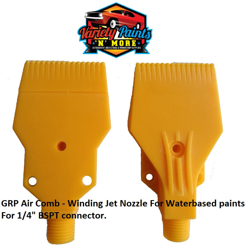 GRP Air Comb - Winding Jet Nozzle For Waterbased paints