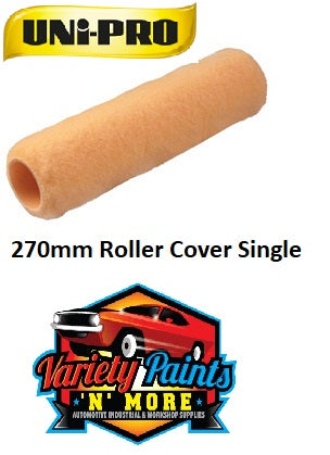 Unipro 270mm Roller Cover Single 10mm Nap