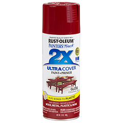 RustOleum 2X Gloss Colonial Red Ultracover Spray Paint