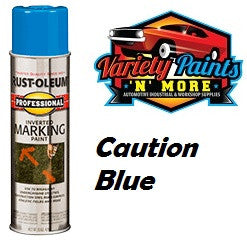 RustOleum Inverted  Marking Paint 425 Gram Caution Blue