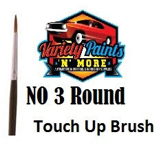 Unipro No 3 Round Touch Up Brush