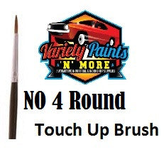 Unipro No 4 Round Touch Up Brush