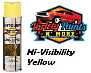 RustOleum Inverted  Marking Paint 425 Gram Hi-Visibility Yellow