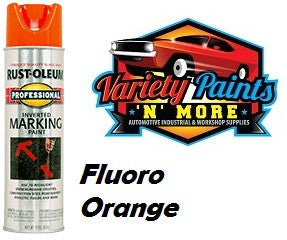 RustOleum Inverted  Marking Paint 425 Gram Fluoro Orange