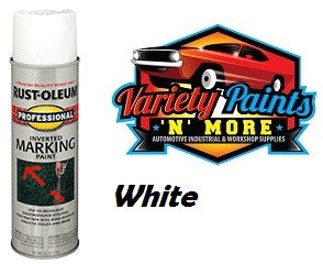 RustOleum Inverted  Marking Paint 425 Gram White