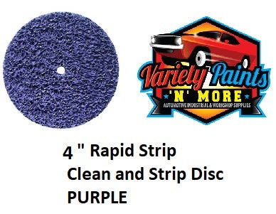 "4"" Rapid Strip Clean and Strip Disc  PURPLE"