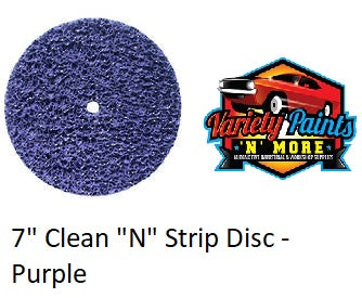 "7"" Rapid Strip Clean and Strip Disc  PURPLE"