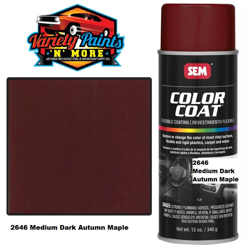 SEM Medium Dark Autumn Maple Colourcoat Vinyl Aerosol 300 grams