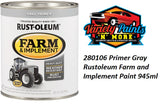 RustOleum Grey Primer Enamel Paint 946ml variety paints n more