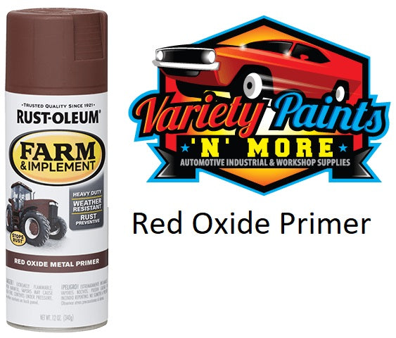 RustOleum Red Oxide Farm & Implement Enamel Spray Paint 340 Gram