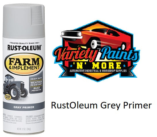 RustOleum Grey Primer Spray Paint