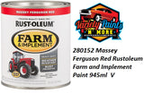 RustOleum Massey Ferguson Red Enamel Paint 946ml Variety Paints N More