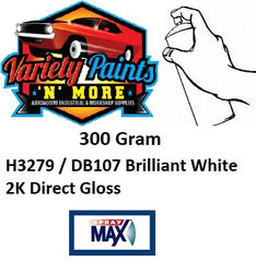H3279 / DB107 Brilliant White Suitable for DAF 2K Aerosol Paint 300 Grams