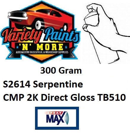 S2614 Serpentine CMP 2K TB510 Aerosol Paint 300 Grams