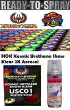 HOK Kosmic Urethane Show Klear In a 2K Spray Can 300 Grams
