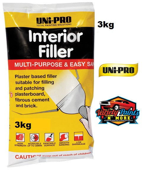 Unipro Interior Filler 3 KG Bag