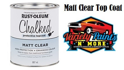 Rustoleum Chalked Ultra Matt Clear 1 Quart