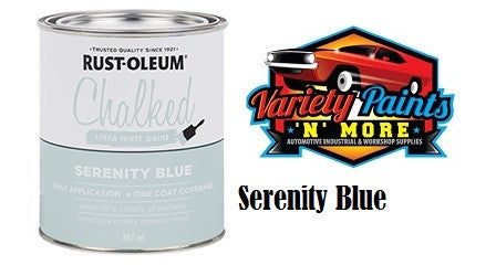 Rustoleum Chalked Ultra Serenity Blue 1 Quart