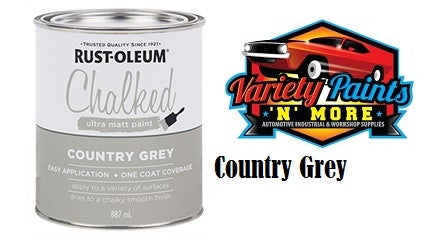 Rustoleum Chalked Ultra Matt Country Grey 1 Quart