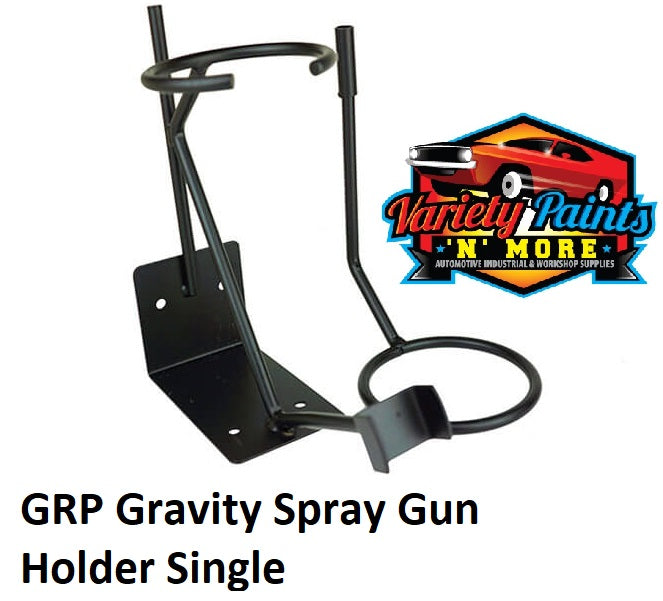 GRP Gravity Spray Gun Holder Single