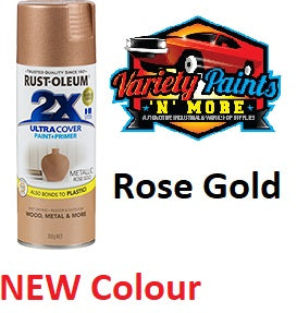 RustOleum 2X Rose Gold Ultracover Spray Paint 312 Grams