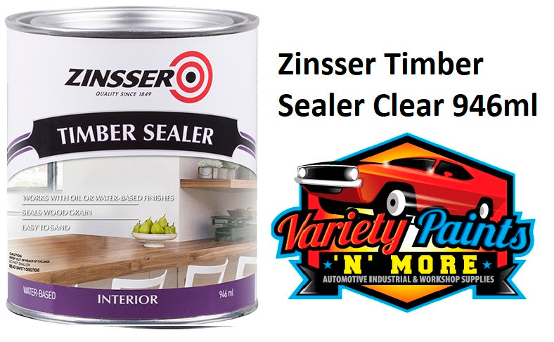 Zinsser Timber Sealer Clear 946ml