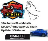 BA or 39A Aurora Blue Metallic MAZDA/FORD ACRYLIC Touch Up Paint 300 Grams
