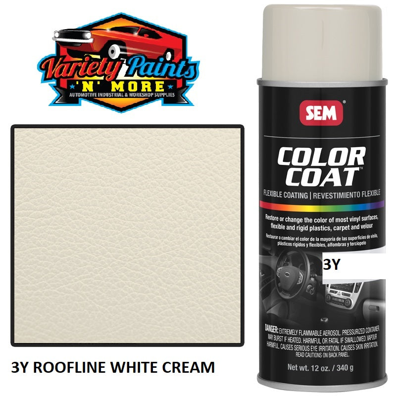 3Y Roofline White Cream Colourcoat Vinyl Aerosol