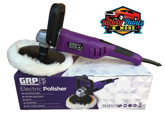 GRP Electric Polisher EP122 1200 Watt Variety Paints N More