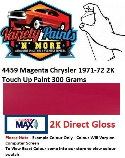 4459 Magenta Chrysler 1971-72 2K Touch Up Paint 300 Grams