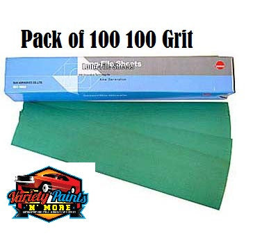 Sunmight 100 Grit Speedfile Sheets Pack of 100