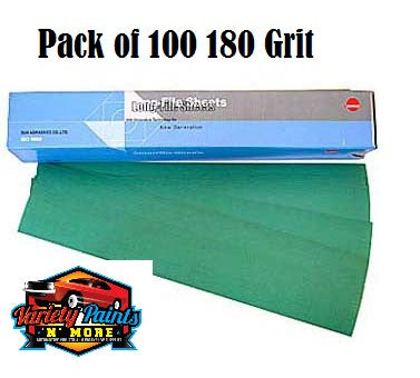 Sunmight 180 Grit Speedfile Sheets Pack of 100