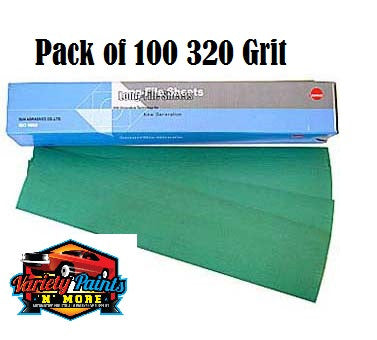 Sunmight 320 Grit Speedfile Sheets Pack of 100