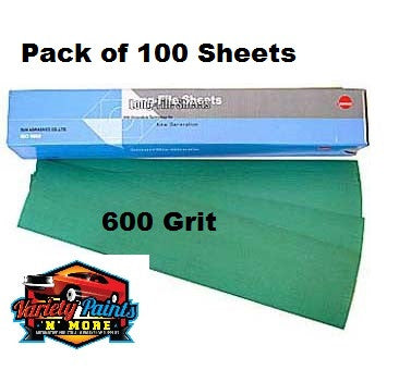 Sunmight 600 Grit Speedfile Sheets Pack of 100