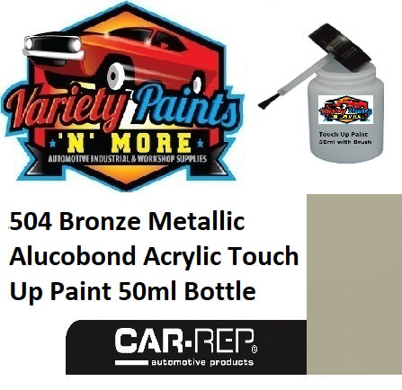 504 Bronze Metallic Alucobond Acrylic Touch Up Paint 50ml Bottle