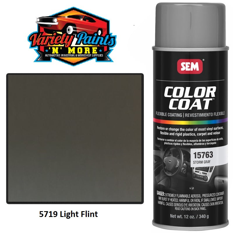 L5719 LEX Light Flint  SEM Colourcoat Vinyl Aerosol 300 Grams