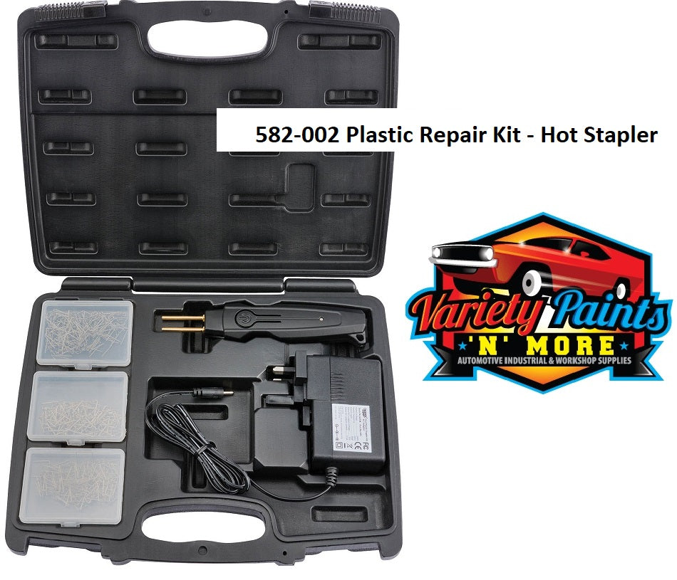 Plastic Repair Kit - Hot Stapler