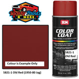 5821-1 OLD RED JAG 1950-1970S SEM Colourcoat Vinyl Aerosol