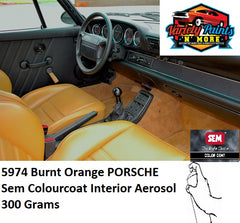 5974 Burnt Orange PORSCHE Colourcoat Vinyl Aerosol 300 Grams