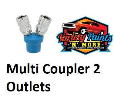 Multi Coupler 2 Way Inline