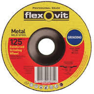 Flexovit Metal Grinding Wheel 125mm x 6.8mm x 22.2mm